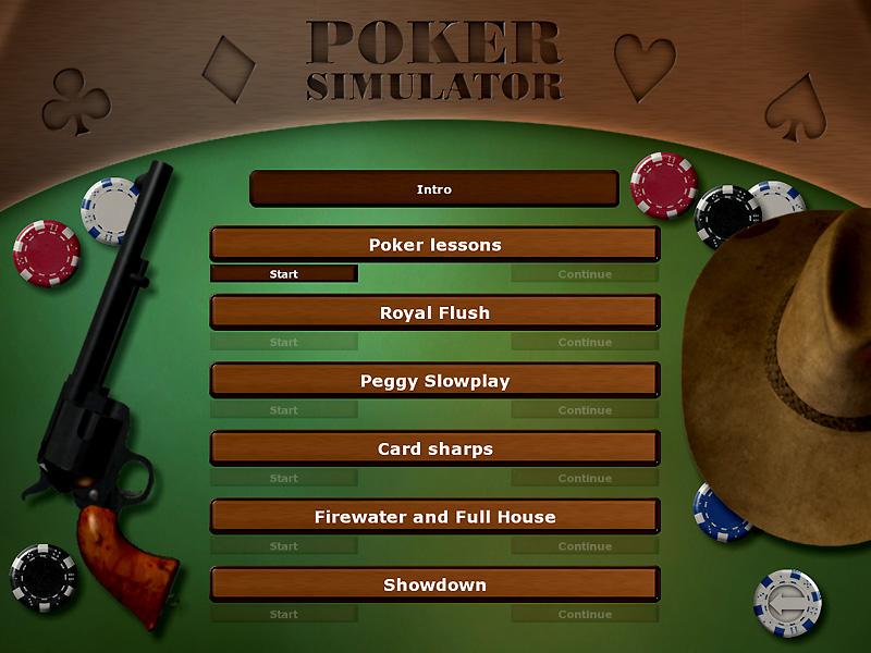 CrimsonRain.Com Poker Simulator: No Limit Texas Hold'Em 撲克模擬:無限額德州撲克